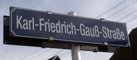 Karl-Friedrich-Gauß-Straße